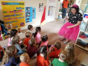 Tooth Fairy teaches preschoolers about dental health